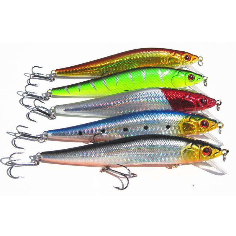 23G 14Cm Fishing Minnow Lure Artificial Bait Ocean Fishing Big Game Lures 5-Musky & Pike Baits-Bargain Bait Box-Bargain Bait Box