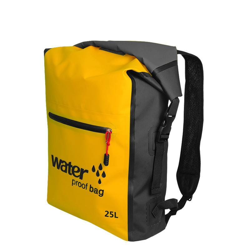 25L Waterproof Dry Bag Backpack Sack Storage Bag Rafting Sports Kayaking-Dry Bags-Bargain Bait Box-Green Color-Bargain Bait Box