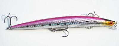 26G Hard Fishing Lure Wobblers Laser Painted Minnow Lure Big Game Isca-Musky & Pike Baits-Bargain Bait Box-3-Bargain Bait Box