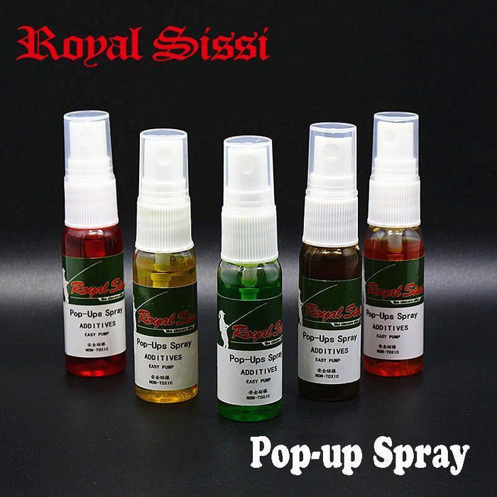 2Bottles Pop-Ups Spray 5 Optional Smells Carp Fishing Additives Spray Attractant-Royal Sissi Official Store-red color strawberry-Bargain Bait Box