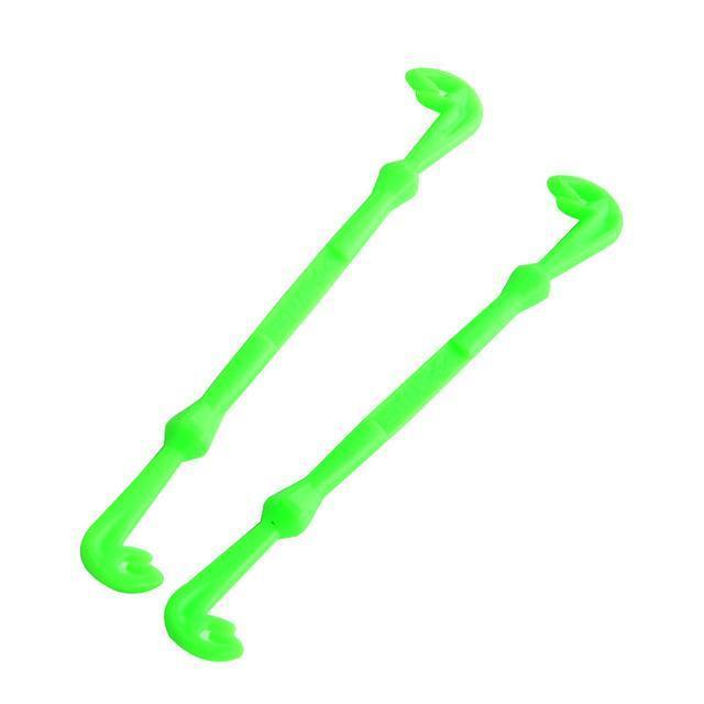 2Pcs Easy Hook Loop Tyer Disgorger Tool Tie Fast Knot Tying Tool For Fly-DONQL Store-Green-Bargain Bait Box