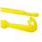 2Pcs Easy Hook Loop Tyer Disgorger Tool Tie Fast Knot Tying Tool For Fly-DONQL Store-Yellow-Bargain Bait Box