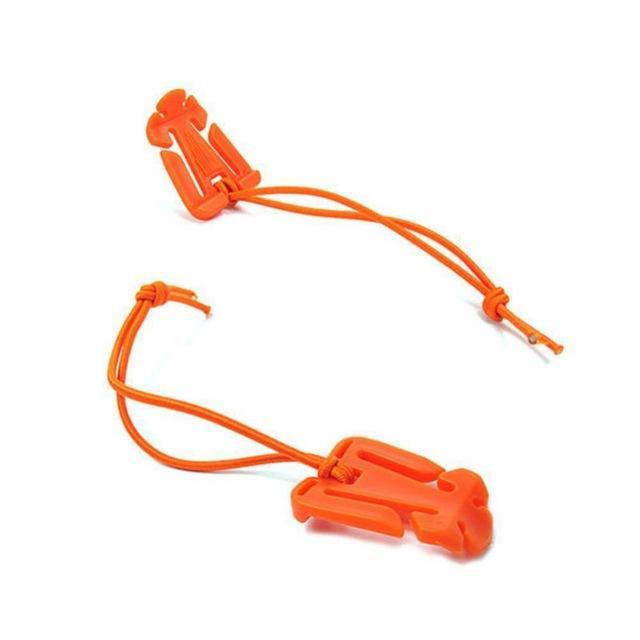 2Pcs Outdoor Elastic Rope Triangle Fixing Clip Clamp Climbing Backpack Bag Molle-Su Athletics Shop Store-WN0620O-Bargain Bait Box