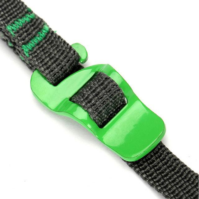 2Pcs Outdoor Travel Rescue Strap Suitcase Luggage Strap Quick Release Survival-Live Beautiful-Green-Bargain Bait Box