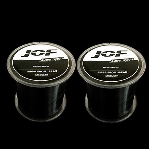 2Pcs Strong Nylon Fishing Line 500M Monofilament Line Japan Material Fishline-HD Outdoor Equipment Store-Black-1.0-Bargain Bait Box