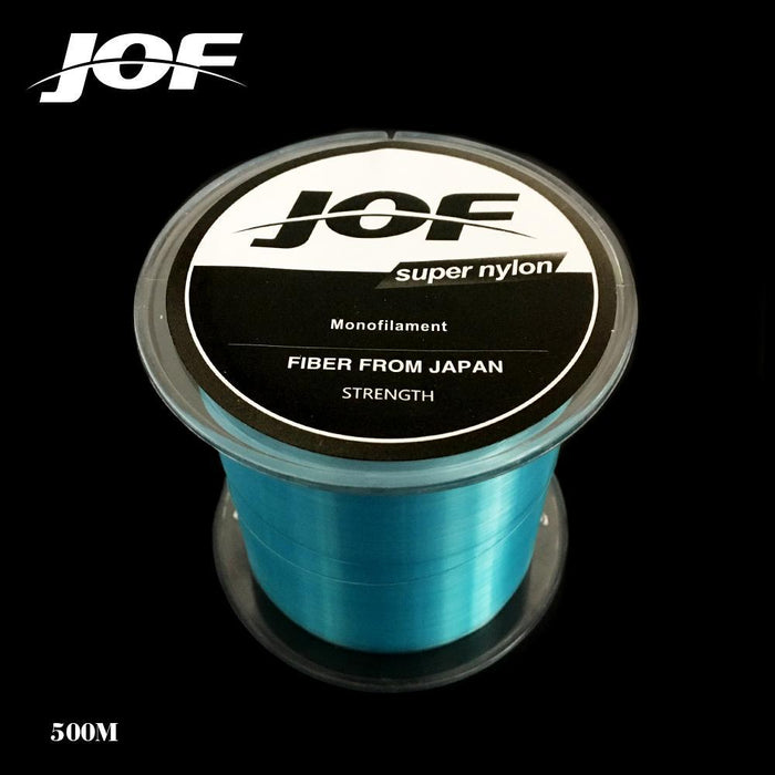 2Pcs Strong Nylon Fishing Line 500M Monofilament Line Japan Material Fishline-HD Outdoor Equipment Store-White-1.0-Bargain Bait Box