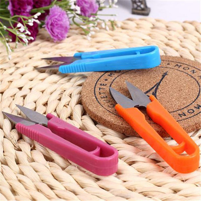 2Pcs/Lot Fish Use Scissors Accessories For Fishing Line Cut Clipper-WDAIREN fishing gear Store-Bargain Bait Box