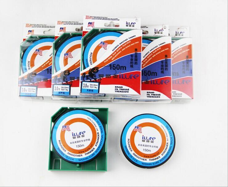 30% Off Fishing Line / Fluorocarbon Line / Main Line 150 Meters Colorful-Asian fishing Store-Red-0.4-Bargain Bait Box