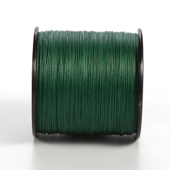 300M Brand Pe Multifilament Braided Fishing Line 4 Strands 6 8 10 15 20 25 30-ASCON FISH Official Store-White-0.4-Bargain Bait Box