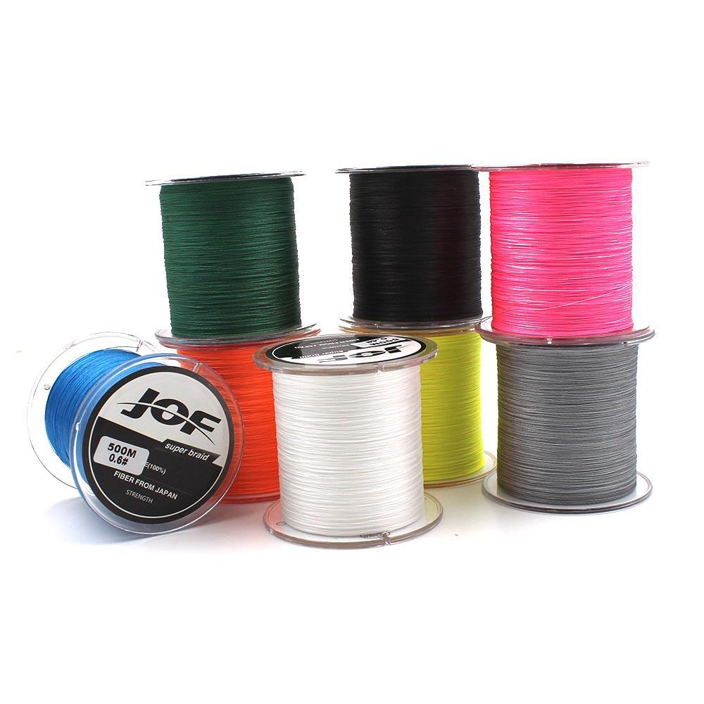 300M/500M 4 Strands Pe Braided Fishing Line Super Strong Japan Multifilament-Enjoying Your Life Store-black 300M-0.6-Bargain Bait Box