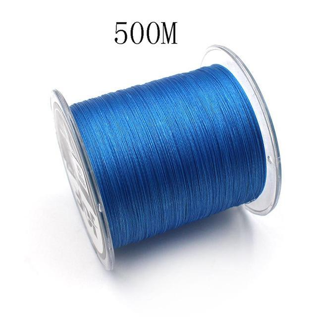 300M/500M 4 Strands Pe Braided Fishing Line Super Strong Japan Multifilament-Enjoying Your Life Store-blue 500M-0.6-Bargain Bait Box
