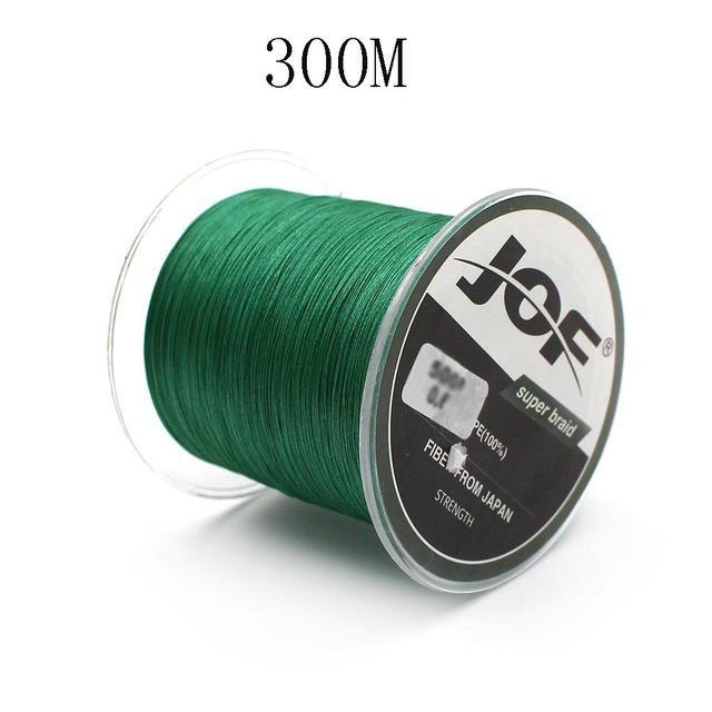 300M/500M 4 Strands Pe Braided Fishing Line Super Strong Japan Multifilament-Enjoying Your Life Store-green 300M-0.6-Bargain Bait Box