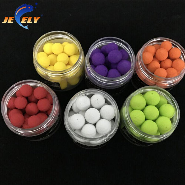 30Pcs/Box Pva Smell Pop Ups Carp Fishing Bait Boilies/ 8Flavors 10Mm Floating-Dough Baits & Boilies-Bargain Bait Box-Brown-Bargain Bait Box
