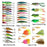 33Pcs/31Pcs Mix Kit Minnow,Metal Spoon,Squid ,Popper,,Frog,Spinnerbait For-Hard Bait Kits-Bargain Bait Box-33pcs-Bargain Bait Box