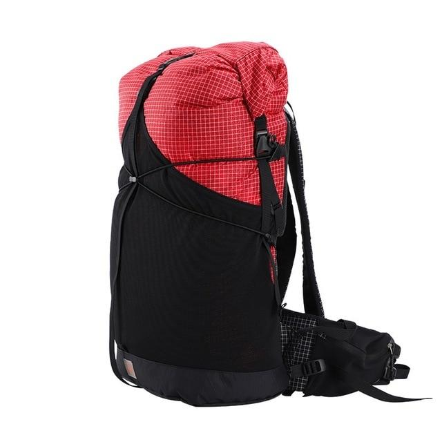 35L 45L Lightweight Durable Travel Camping Hiking Backpack Outdoor Ultralight-Climbing Bags-AliExpress UL Gear Outdoor Store-UHMWPE Red L-Bargain Bait Box