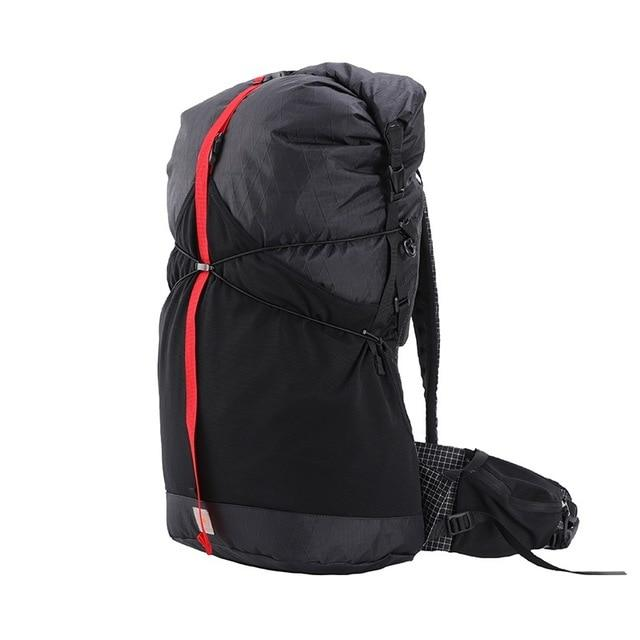 35L 45L Lightweight Durable Travel Camping Hiking Backpack Outdoor Ultralight-Climbing Bags-AliExpress UL Gear Outdoor Store-XPAC Black L1-Bargain Bait Box