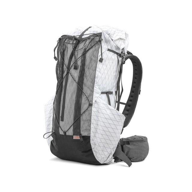 35L 45L Lightweight Durable Travel Camping Hiking Backpack Outdoor Ultralight-Climbing Bags-AliExpress UL Gear Outdoor Store-XPAC White M-Bargain Bait Box