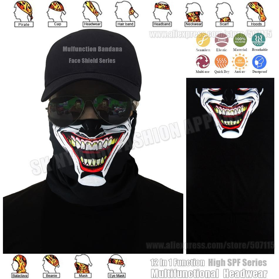 3D Designs Sport Seamless Bandana Scarf Vampire Magic Bandana Headband Face-Face Shields-Bargain Bait Box-Bargain Bait Box