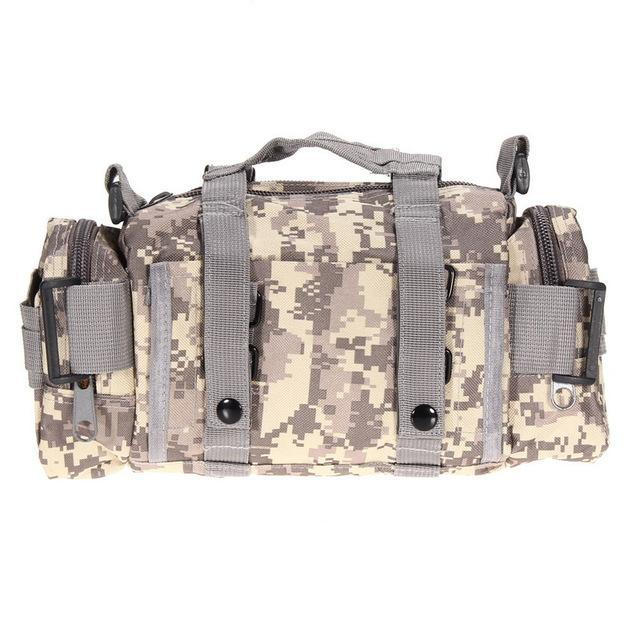 3L Tactical Bag Sport Bags 600D Waterproof Oxford Military Waist Pack Molle-Bags-Bargain Bait Box-style A 2-Bargain Bait Box