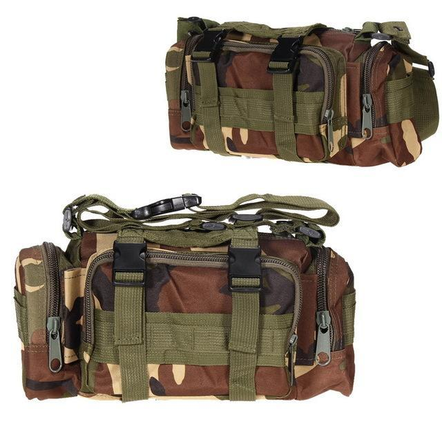 3L Tactical Bag Sport Bags 600D Waterproof Oxford Military Waist Pack Molle-Bags-Bargain Bait Box-style A 4-Bargain Bait Box