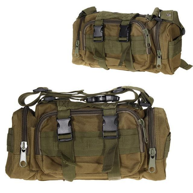 3L Tactical Bag Sport Bags 600D Waterproof Oxford Military Waist Pack Molle-Bags-Bargain Bait Box-style A 5-Bargain Bait Box