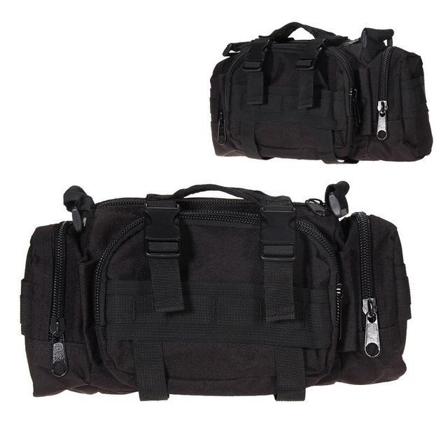3L Tactical Bag Sport Bags 600D Waterproof Oxford Military Waist Pack Molle-Bags-Bargain Bait Box-style A-Bargain Bait Box