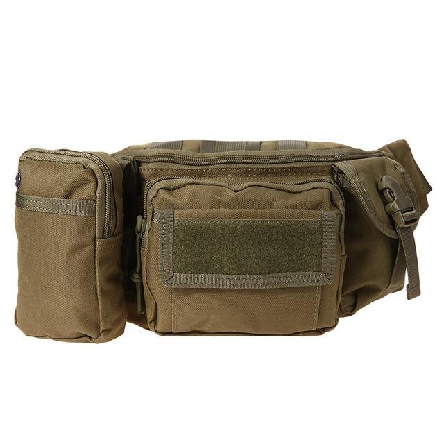 3L Tactical Bag Sport Bags 600D Waterproof Oxford Military Waist Pack Molle-Bags-Bargain Bait Box-style B 1-Bargain Bait Box