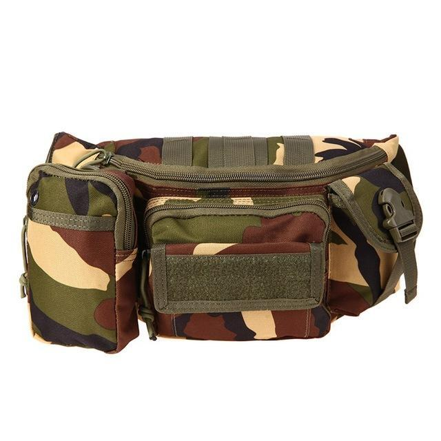 3L Tactical Bag Sport Bags 600D Waterproof Oxford Military Waist Pack Molle-Bags-Bargain Bait Box-style B 2-Bargain Bait Box