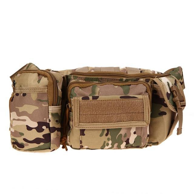 3L Tactical Bag Sport Bags 600D Waterproof Oxford Military Waist Pack Molle-Bags-Bargain Bait Box-style B 3-Bargain Bait Box
