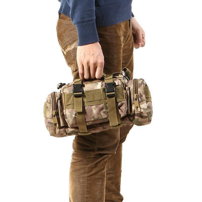 3L Tactical Bag Sport Bags 600D Waterproof Oxford Military Waist Pack Molle-Bags-Bargain Bait Box-style B-Bargain Bait Box