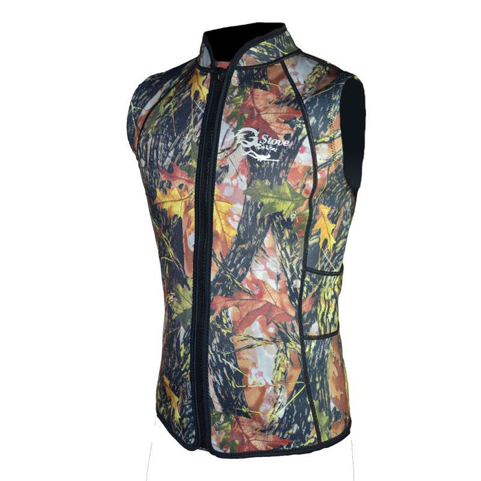 3Mm Neoprene Spearfishing Vest Camo Hunting Suit For Men Women K1601-Spearfishing-Bargain Bait Box-Multi-XXXL-Bargain Bait Box