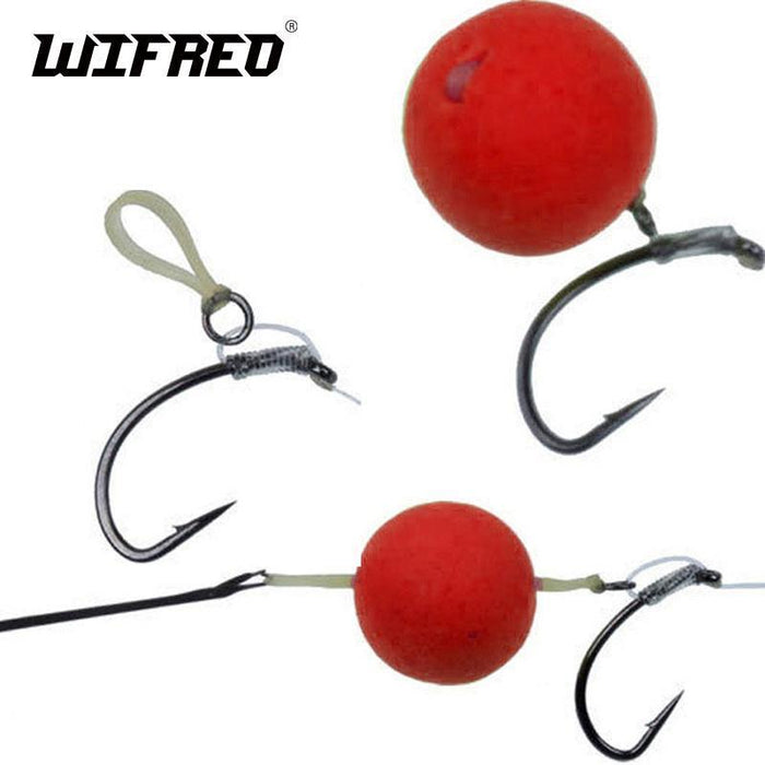 [400Pcs/Pack] 2Mm 5Mm Carp Fishing Hair Rig Bait Bands For Pellet Bander Red-Wifreo store-Red 2mm 400PCS-Bargain Bait Box