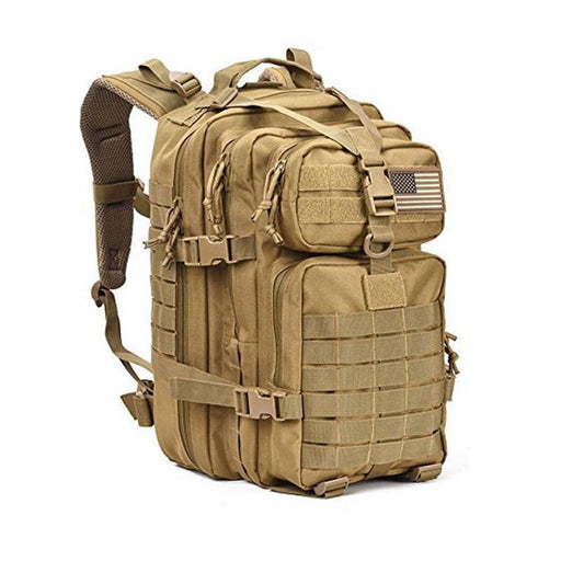 40L Military Tactical Assault Pack Backpack Army Molle Waterproof Bug Out Bag-2017 Outdoor Activity Store-Khaki-Bargain Bait Box