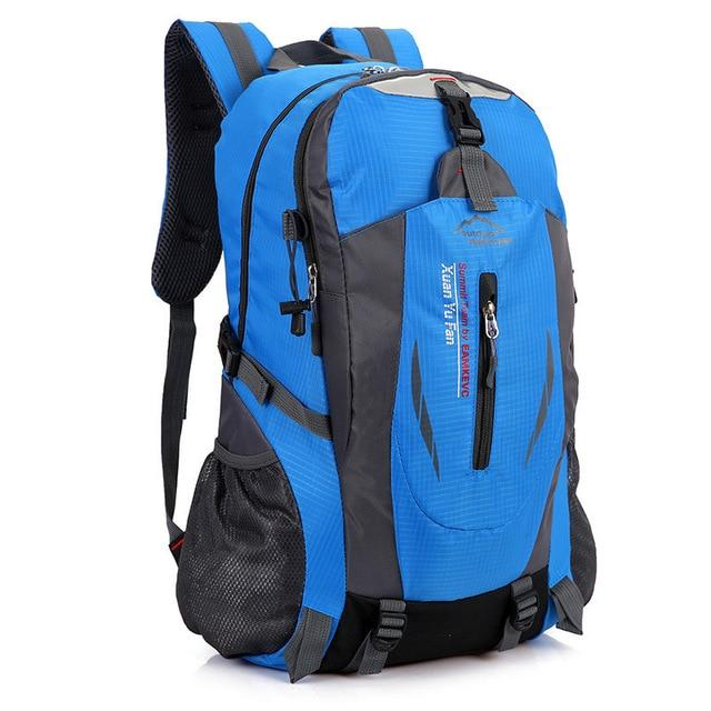 40L Waterproof Durable Outdoor Climbing Backpack Women&Men Hiking Athletic Sport-Climbing Bags-Outop Sports Shop Store-Blue-Bargain Bait Box