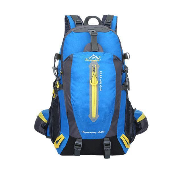 40L Waterproof Tactical Backpack Hiking Bag Cycling Climbing Backpack Laptop-JK Bags Store-Blue Color-Bargain Bait Box