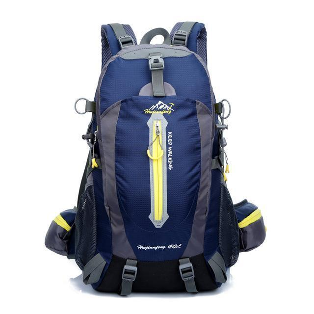 40L Waterproof Tactical Backpack Hiking Bag Cycling Climbing Backpack Laptop-JK Bags Store-dark blue-Bargain Bait Box