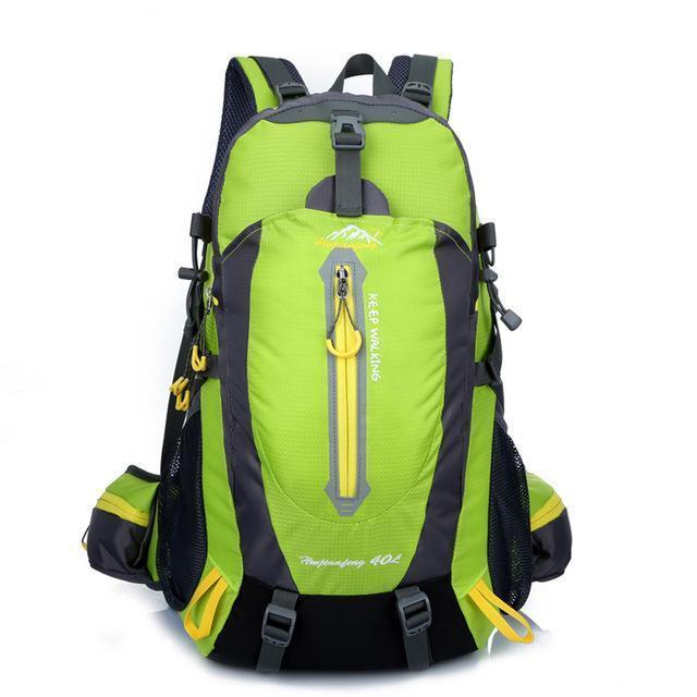 40L Waterproof Tactical Backpack Hiking Bag Cycling Climbing Backpack Laptop-JK Bags Store-Green Color-Bargain Bait Box