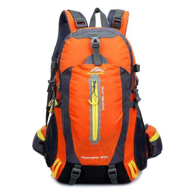 40L Waterproof Tactical Backpack Hiking Bag Cycling Climbing Backpack Laptop-JK Bags Store-orange-Bargain Bait Box