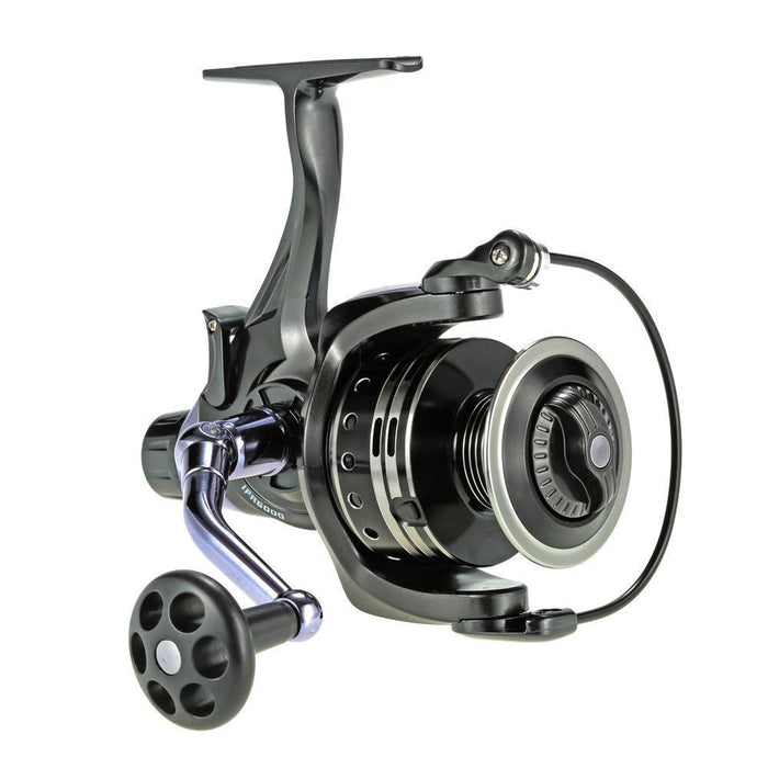 4+1Bb Ball Bearings Spinning Reel Winter Saltwater 4.7:1 Fishing Reel Dual Brake-Sports Zone-Keep you heathy-3000 Series-Bargain Bait Box