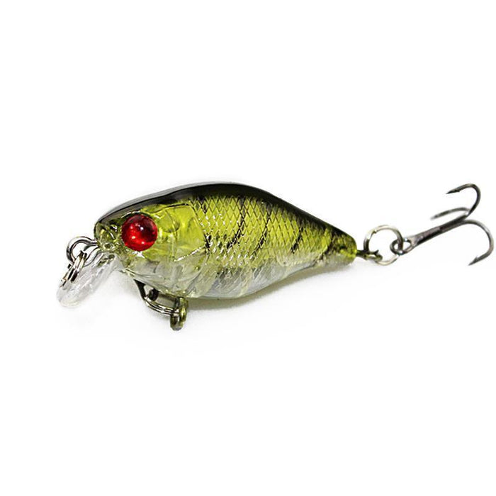 4Cm 4.2G Flash Swim Fishing Lure Artificial Hard Crank Bait Wobblers Japan-KoKossi Outdoor Sporting Store-1-Bargain Bait Box