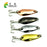 4Pcs 3.5Cm 3.7G Hard Metal Spinner Spoon Fishing Tackle Fishing Crank Swimbait-Casting & Trolling Spoons-Bargain Bait Box-Bargain Bait Box