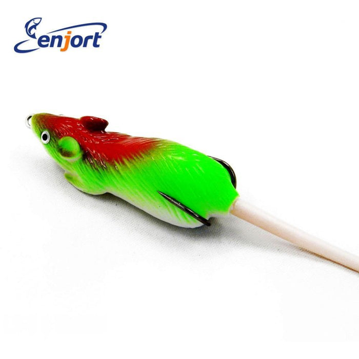 5 Colors Soft Mouse Fishing Lures 7Cm 10.5G Isca Artificial Frog Bait Lure-Hong Ru Fishing Tackle Store-Bargain Bait Box