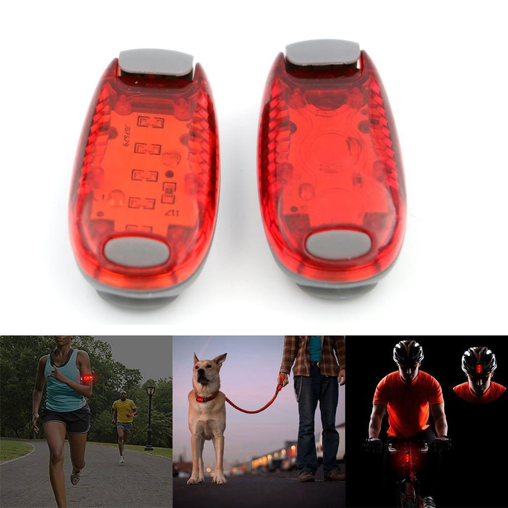 5 Led Luminous Mini Clip Light For Running Cycling Jogging Night Safety-Dreamland 123-Bargain Bait Box