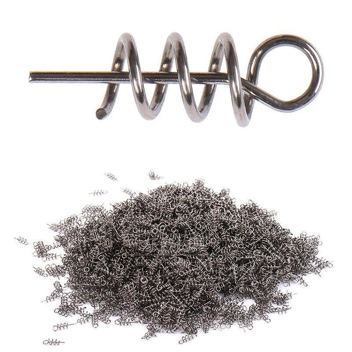 50-100Pcs/Bag Pesca Fising Lure 14Mm Fishing Pin Spiral Fishing Bait Steel-WDAIREN Fishing Store-20pcs-Bargain Bait Box