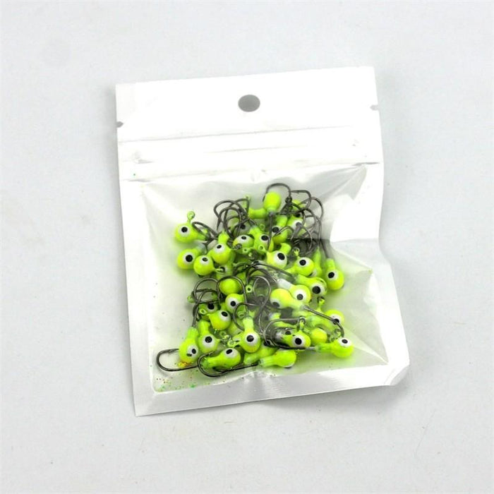 50 Pcs/Lot Lead Jig Heads-Roundhead & Specialty Jigs-Bargain Bait Box-Bargain Bait Box