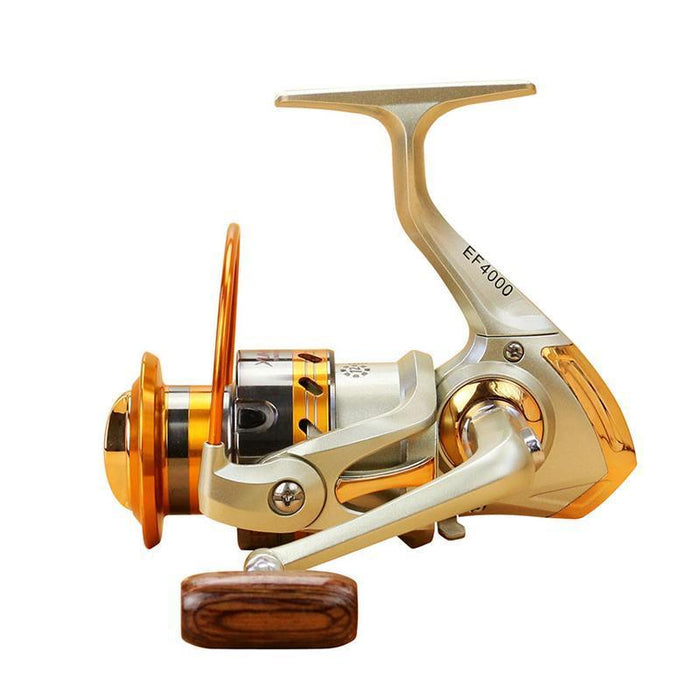 500-9000 Series Distant Wheel Metal Spinning Fishing Reel 5.5:1 12 Bearing Balls-Spinning Reels-Sports fishing products-1000 Series-Bargain Bait Box