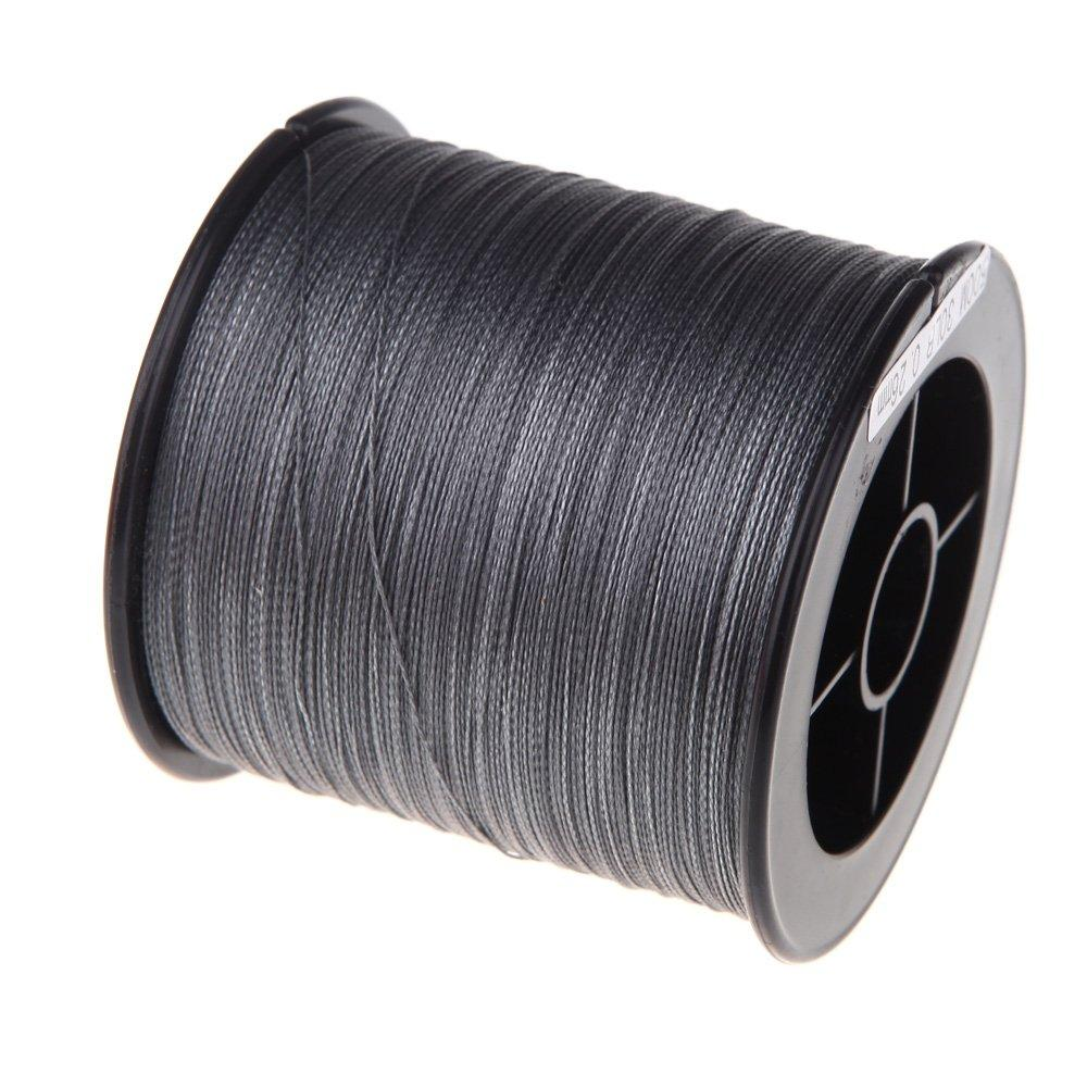 500 M 30 Lb 0.26Mm Fishing Line Strength Pe Braided 4 Strands Gray-Cherie's Store-Bargain Bait Box