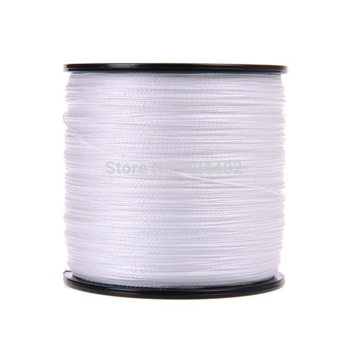 500M Brand 8Colors To Choices Super Strong Japan Multifilament Pe Braided-ASCON FISH Official Store-White-0.4-Bargain Bait Box