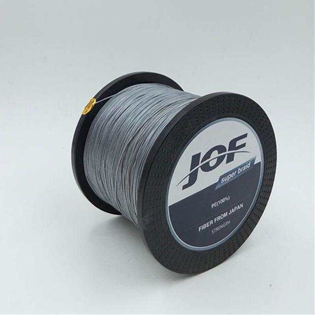 500M Fishing Super Strong Japan Multifilament Pe Braided Fishing Line 8-GobyGo Store-Gray-0.6-Bargain Bait Box