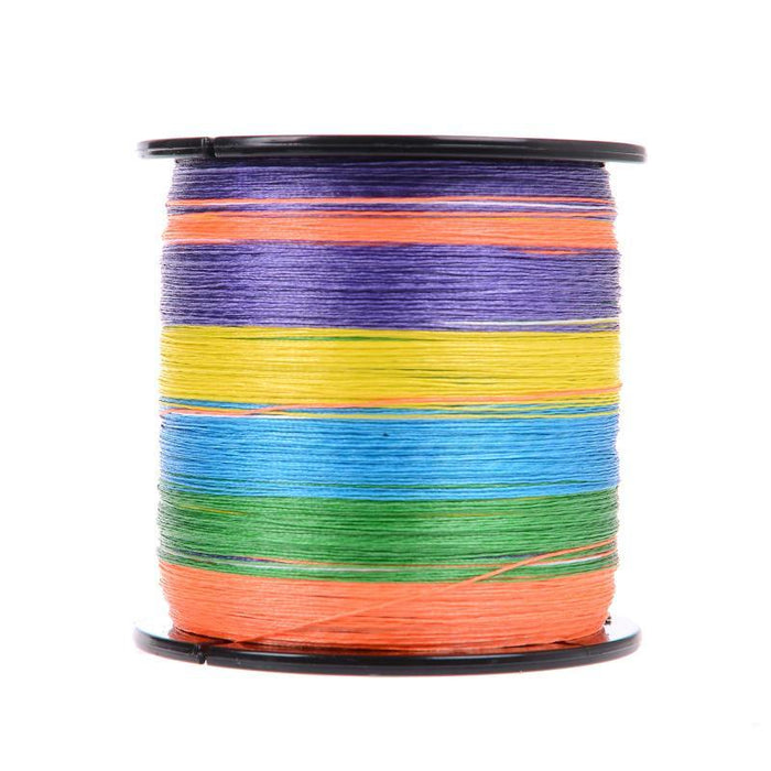 500M Rainbow Super Strong Japan Multifilament Pe Braided Fishing Line Fishing-ASCON FISH Official Store-0.4-Bargain Bait Box
